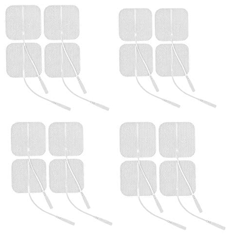 Innovo Medical Reusable 44-Piece Standard TENS Electrode Pads with Universally Compatible Gel Adhesive