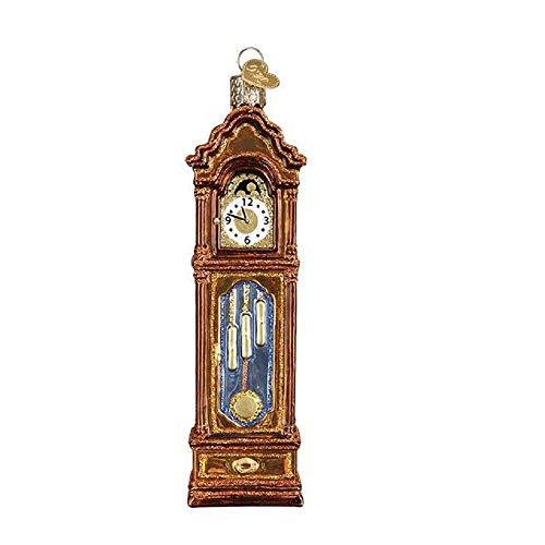 Old World Christmas Grandfather Clock Ornament, Multi
