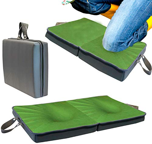 Knee Pad Extra Thick | Memory Foam Garden Kneeling Pad Tote & Bath Kneeler for Baby Bath | Knee Foam Pad | Work Knee Pads for Woman and Men | Knee Pad Yoga Mat Kneeling Pads Construction Exercise