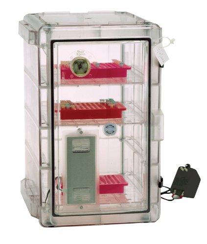 Bel-Art Secador Vertical Profile Clear 4.0 Auto-Desiccator Cabinet; 100V, 1.9 cu. ft. (F42074-1100)