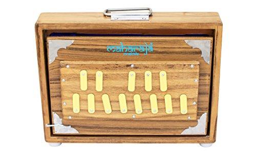 MAHARAJA Shruti Box - Teak Wood, 13 Drones (PDI-123)
