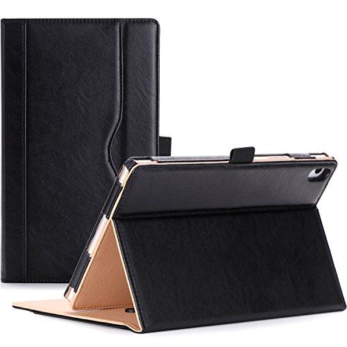 ProCase Lenovo Tab 4 8 Plus Case - Stand Folio Case Cover for Lenovo Tab 4 8' Plus Android Tablet 2017 Release ZA2H0000US -Black