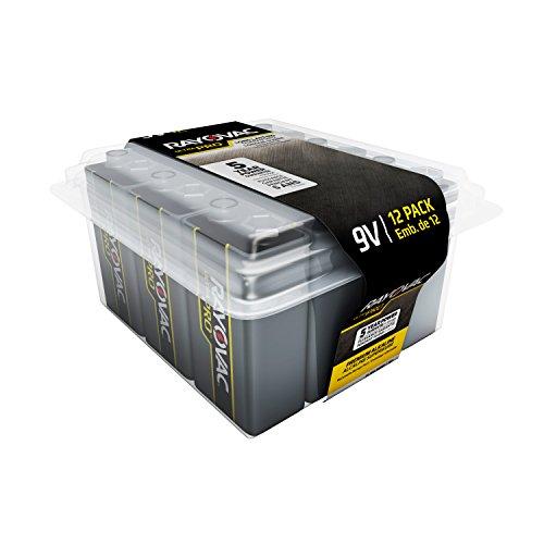 Rayovac Ultra Pro 9V Reclosable 12-pack