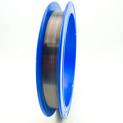 0.0400'' (1.016 mm) Diameter 99.95% Tungsten Fine Wire, 20 feet, Cleaned and straightened