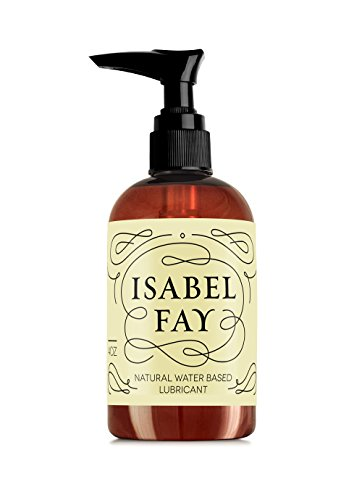 4oz, NO Parabens NO Glycerin, Natural Personal Lubricant for Sensitive Skin, Isabel Fay - Water Based - Best Personal Lube for Women and Men