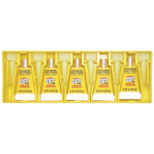 Super Glue Original Superglue(r) 15175-12 Instant Adhesive Mini Tubes, 5 Pk