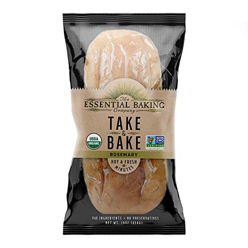 Organic Take & Bake Bread - 16 Count Case (French)
