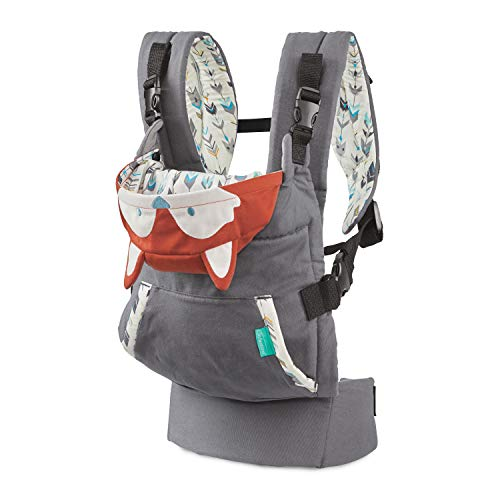 Infantino Cuddle Up Ergonomic Baby Carrier - Fox, Orange