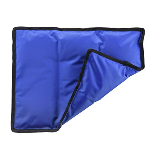 Gel Cold & Hot Pack - 11x14.5' Reusable Warm or Ice Pack for Injuries, Hip, Shoulder, Knee, Back Pain - Hot & Cold Compress for Swelling, Bruises, Surgery - Heat & Cold Therapy