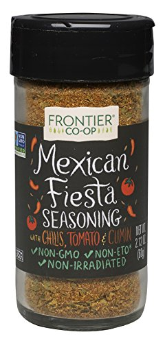 Frontier Seasoning Blends Mexican Fiesta, 2.12-Ounce Bottle