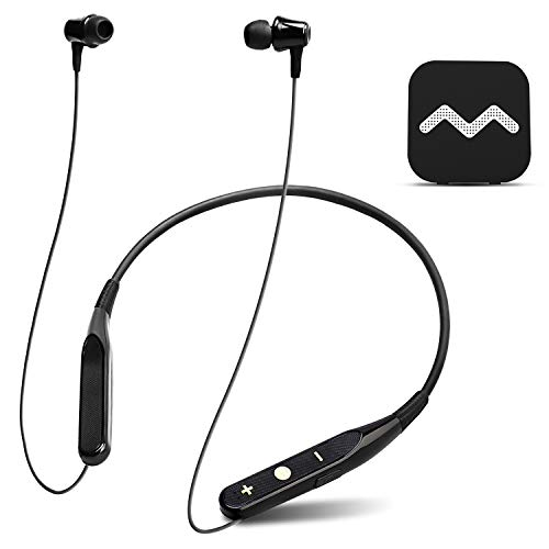 Neosonic Hearing Amplifier Headphone to Aid TV Listening & Hard Conversation for Seniors & Adults, Rechargeable Pocket Talker Neckband Device with Wireless Microphone - NW10