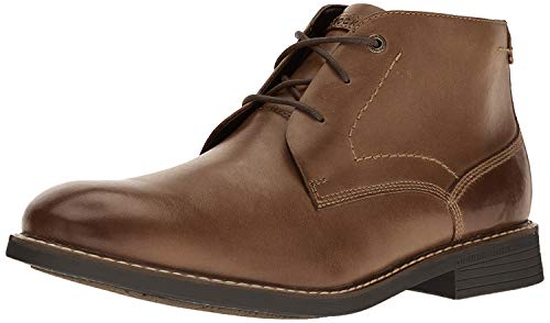 Rockport Men's Classic Break Chukka Boot- Dark Brown Leather-8.5  M