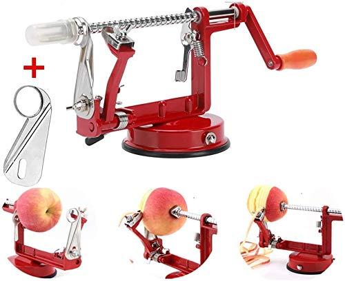 Apple Peelers,Apple Peeler Corer Slicer Suction Base Durable Heavy Duty Blade Peelers 2 Blade Made in USA