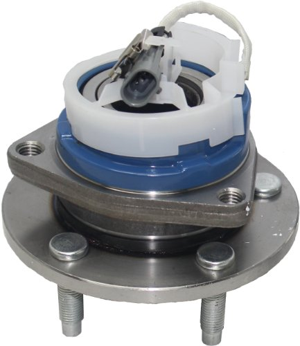 Detroit Axle - Front Wheel Hub and Bearing Assembly for Allure, Aurora, Bonnevile, Century, Impala 5 Lug W/ABS