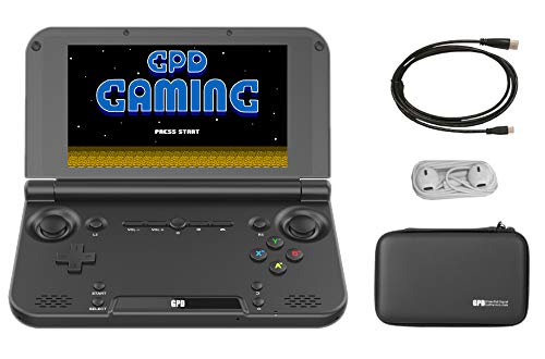 """GPD XD Plus [Latest & Most Stable Update] Portable Handheld Video Gaming Console, 5"""" Touchscreen, Android 7.0, MT8176 CPU, PowerVR GX6250 GPU, 4GB RAM / 32GB ROM, WiFi, Bluetooth"""