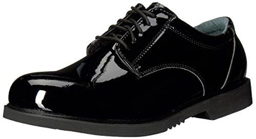Thorogood Men's 831-6031 Uniform Classics - Poromeric Oxford Shoe, Black - 11 M US