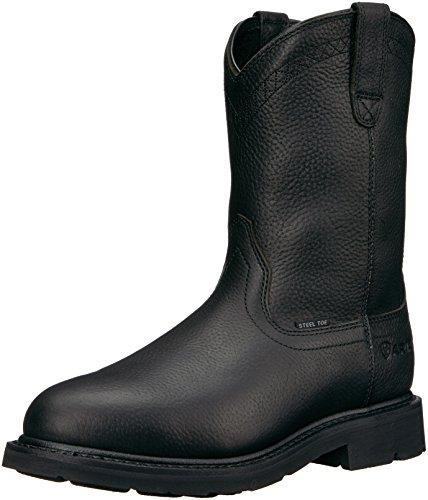 Ariat Work Men's Sierra Steel Toe Work Boot, Black, 10.5 D US