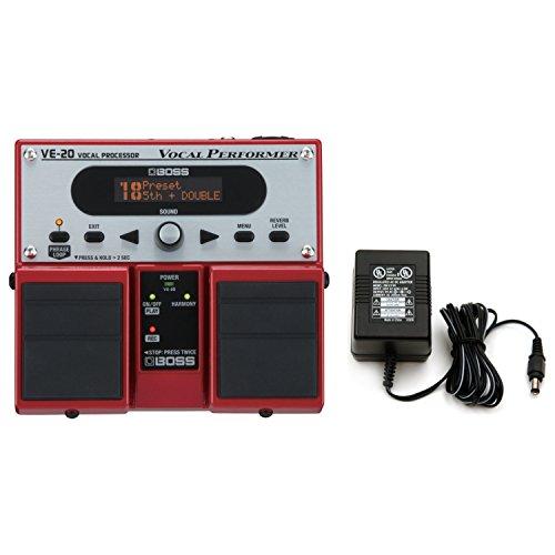 Boss VE-20 Vocal Performer Vocal Processor Pedal w/ Power Supply
