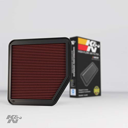K&N Engine Air Filter: High Performance, Premium, Washable, Replacement Filter: 2004-2015 Toyota/Lexus (Crown Royal, Rav4, Reiz, Mark X, IS 250, IS 350, IS 220, GS 350, IS 300, GS 430), 33-2345