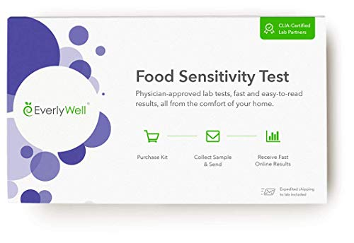 Everlywell Food Sensitivity Test - at Home - CLIA-Certified Adult Test - Personalized, Accurate Blood Analysis - Not Available in NY/NJ/RI (96)
