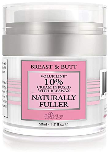 Divine Derriere Body Cream - Natural Breast Cream For Bust and Butt, Naturally Fuller, Firming, Lifting and Plumping