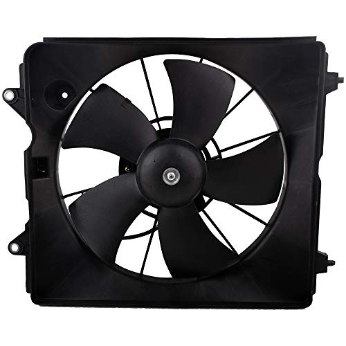 BOXI Radiator Cooling Fan Motor Assembly Compatible with 2007 2008 2009 Honda CR-V (Replaces 19015RZAA01 19030RZAA01 620-212)