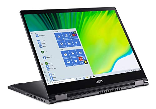 Acer Spin 5 Convertible Laptop, 13.5' 2K 2256 x 1504 IPS Touch, 10th Gen Intel Core i7-1065G7, 16GB LPDDR4X, 512GB NVMe SSD, Wi-Fi 6, Backlit KB, FPR, Rechargeable Active Stylus, SP513-54N-74V2