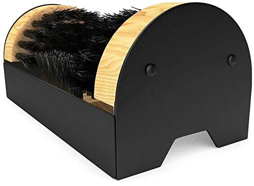 Mr. Mud Eater Boot Brush Cleaner Scraper - Floor Mount with Hardware Included for Indoor/Outdoor Installation