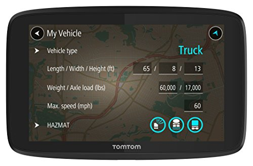 Tomtom Trucker 520 5-Inch Gps Navigation Device For Trucks With Wi-Fi Connectivity, Smartphone Services, And Free Lifetime Traffic And Maps Of North America