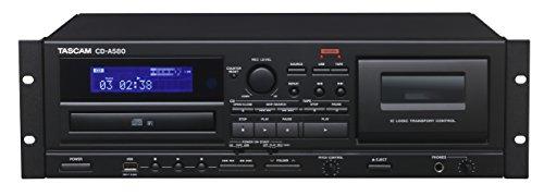 Tascam CD-A580 Rackmount Cassette/CD/USB MP3 Player Recorder Combo