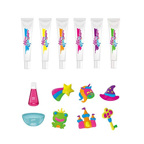 Jintao Fish Toy Kit, The Sea Life Figure Toy for Kid Educational Party - Include 6 Color Tubes and 6 Ocean Sea Animal Model