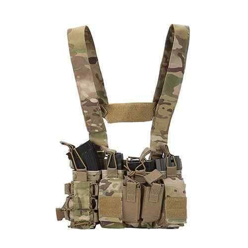 DLP Tactical D3 Universal Chest Rig with 223/308 Pouches (Multicam)