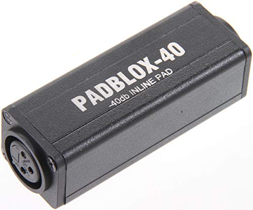 Rapco Horizon PADBLOX-40 Pad Blox Xlrf To Xlrm -40Db Signal Processor