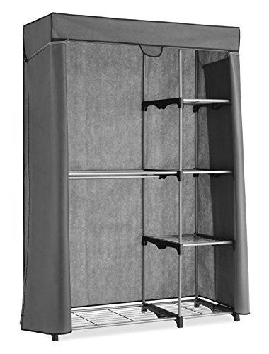 Whitmor Deluxe Utility Closet - 5 Extra Strong Shelves - Removable Cover