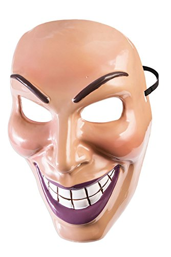 Forum Novelties Male Evil Grin Mask-Standard