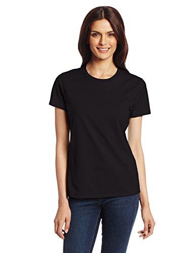 Hanes Women's Nano T-Shirt, X-Large, Black