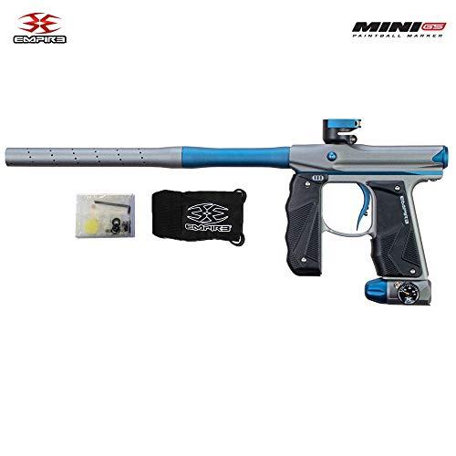 Empire Mini GS Paintball Gun - Dust Grey/Navy Blue 2-pc Barrel