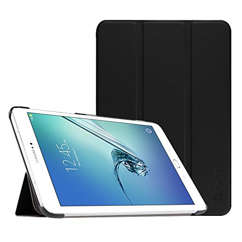 Fintie Slim Shell Case for Samsung Galaxy Tab S2 8.0 - Ultra Lightweight Protective Stand Cover with Auto Sleep/Wake Feature for Samsung Galaxy Tab S2/S2 Nook 8.0 Inch Tablet, Black
