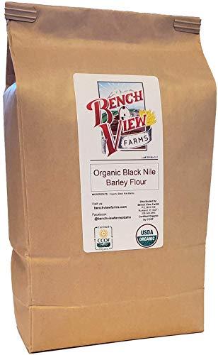 Organic Black Nile Barley Flour - 2lbs (Pack of 1)