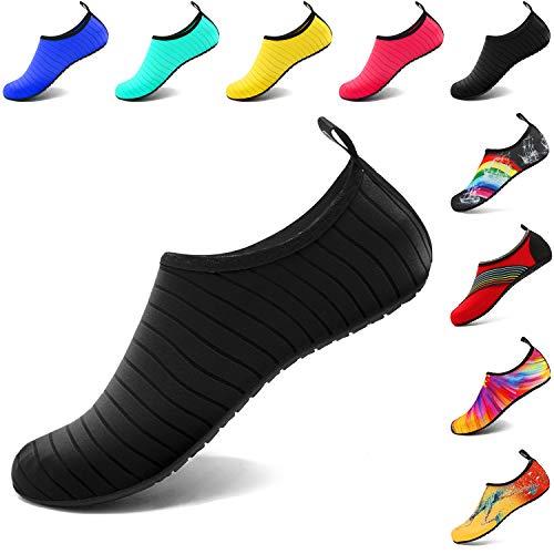 VIFUUR Water Sports Unisex/Kids Shoes Black - 11-12 W US / 9.5-10.5 M US (42-43)