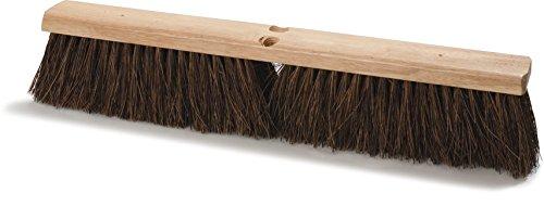 Carlisle 3621912400 Hardwood Block Garage Sweep, 24' Block Size, 4' Bristle Trim