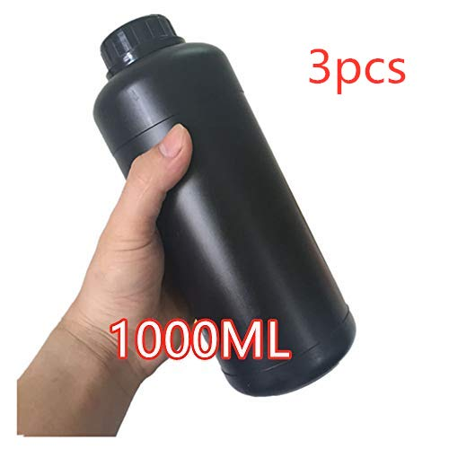 3pcs Darkroom 1000ml Chemical Bottle for Developer Stopper Fixer Film Processing Aarkroom Equipment Film Camera Accessories
