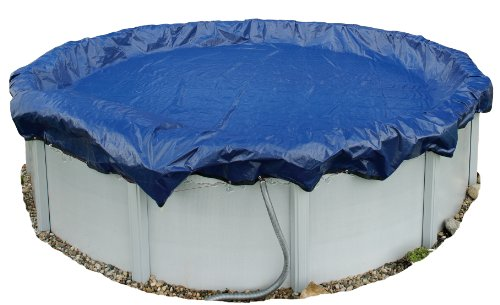 Blue Wave BWC908  Gold 15-Year 24-ft Round Above Ground Pool Winter Cover,Royal Blue
