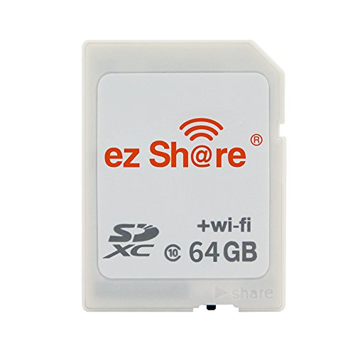 2019 C10 100% Original ez Share WiFi sd Card Memory Card Sdxc Card for Camera Transfer Pictures and Videos by WiFi (32G)