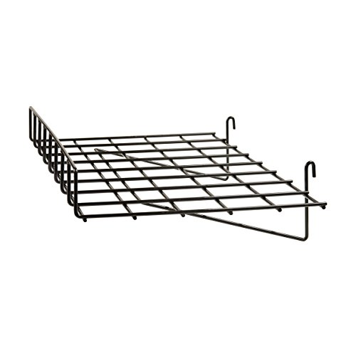 Econoco Straight Shelf with Front Lip, 24' Length x 15' Depth (Pack of 4)