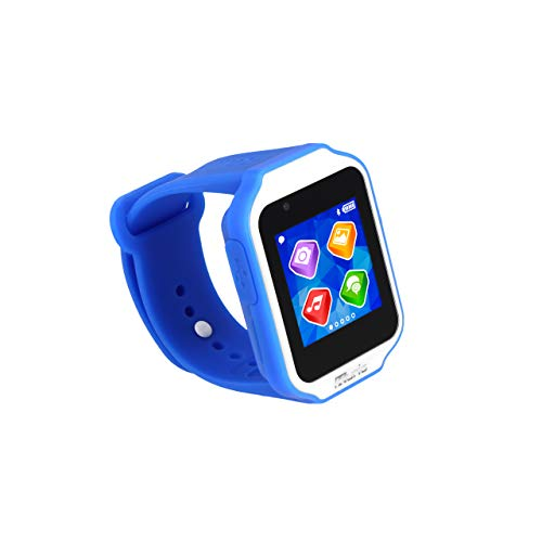 Kurio Glow Smartwatch for Kids with Bluetooth, Apps, Camera & Games, Blue, Model:C17515