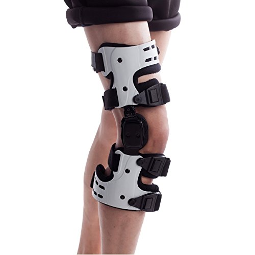 Orthomen OA Unloader Knee Brace - Support for Arthritis Pain, Osteoarthritis, Cartilage Defect Repair, Avascular Necrosis, Knee Joint Pain and Degeneration (Medial/Inside - Right)