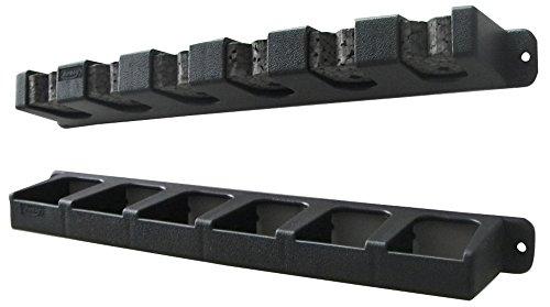 Berkley BAVRR Vertical Rod Rack, Black, 6 Rod