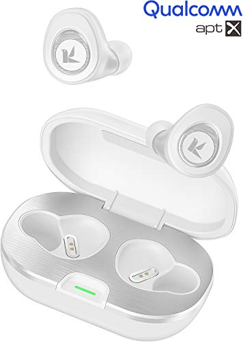 KOSETON True Wireless Stereo Earbuds, Bluetooth Earbuds with APTX Rich Sound, Noise Canceling Wireless Headphones with Bluetooth 5.0, Sweat-Resistant, 50 Hours Playtime, Built-in Mic