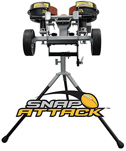 Snap Attack Football Machine, a Professional Training Tool that Delivers Snaps, Passes, Punts and Kick offs